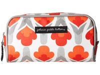 Petunia Pickle Bottom Glazed Powder Room Case Brittany Blooms Cosmetic Case Orange