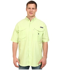Columbia Big Tall Super Bonehead Classic Short Sleeve Shirt Jade Lime Oxford Men's Short Sleeve Button Up Green