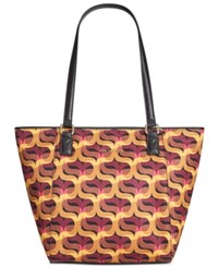 Vera Bradley Small Ella Tote Modern Lights
