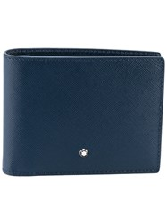 Montblanc Sartorial Cardholder Men Leather One Size Blue