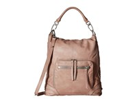 Liebeskind Hitachi Macaque Pink Hobo Handbags Tan