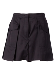 Maison Rabih Kayrouz Pleated Cargo Skirt
