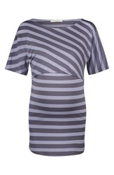 Noppies Alice Maternity Nursing Top Blue Strip