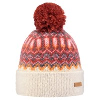 Barts Drew Beanie One Size Cream Red