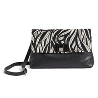 Wtr Amanda Clutch Bag Jaquard Black