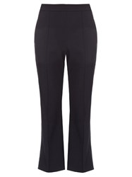 Ellery Bulgaria Flared Leg Cropped Trousers