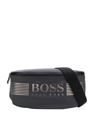 Hugo Boss Logo Print Belt Bag Grey