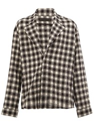 Haider Ackermann Checked Shirt Black