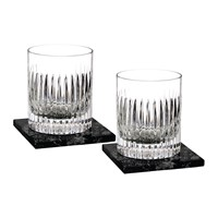 Waterford Dof Tumbler And Marble Coaster Set Of 2 Aras