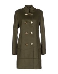 Cristinaeffe Collection Coats Military Green