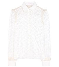See By Chloe Embellished Blouse White