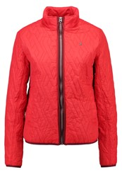G Star Gstar Raw Utility Overshirt L S Light Jacket Flame Red