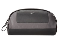 Nike Leather Tech Twill Travel Kit Dark Grey Travel Pouch Gray