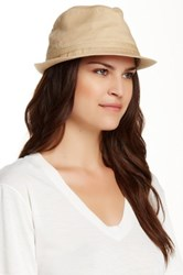 Sperry Salt Washed Packable Fedora Beige