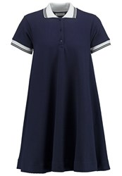 2Nd Day Polaris Summer Dress Navy Blazer Dark Blue