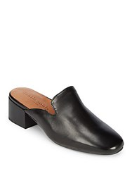 Gentle Souls Eida Leather Mules Black