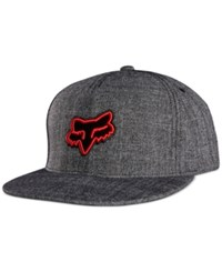 Fox Men's Jump Grump Snapback Hat Charcoal