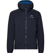 Arc'teryx Atom Lt Padded Fleece Panelled Tyono Hooded Jacket Navy