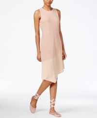 Rachel Roy Asymmetrical Combo Dress Only At Macy's Pink Opal