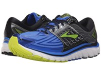 Brooks Glycerin 14 Electric Blue Black Lime Punch Men's Running Shoes