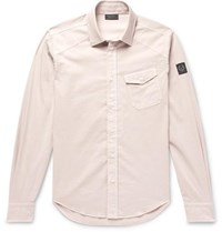 Belstaff Stretch Cotton Shirt Neutral