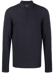 Majestic Filatures Long Sleeve Polo Top 60
