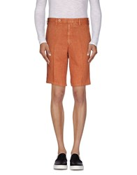 Rotasport Trousers Bermuda Shorts Men Rust
