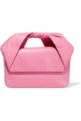 J.W.Anderson Leather Clutch Baby Pink