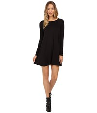 Culture Phit Edena Long Sleeve Dress Black Women's Dress