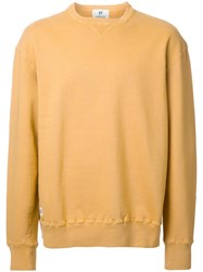 Hbns Crew Neck Sweatshirt Yellow Orange