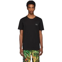 Dolce And Gabbana Black Plaque T Shirt
