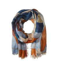 Vivienne Westwood New Flag Navy Scarves