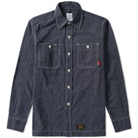 Wtaps Union 02 Shirt Blue