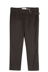3.1 Phillip Lim Belted Trousers Black
