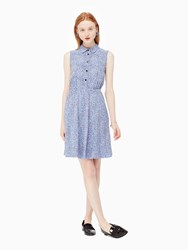 Kate Spade Petals Sleeveless Shirtdress