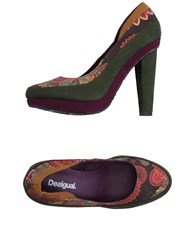 Desigual Pumps Military Green