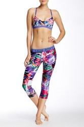 Roxy Relay Capri Legging Blue