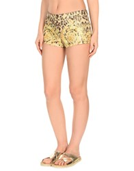 Versace Beach Shorts And Pants Beige