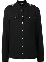 Versus Military Shirt Black