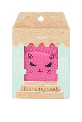 Topshop Exclusive Pack Of Two Facial Cleansing Pads Pink