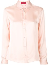 The Gigi Long Sleeve Shirt Pink And Purple