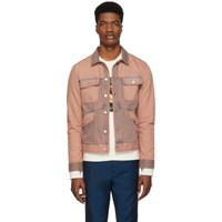 Paul Smith Ps By Pink Denim Rider Jacket