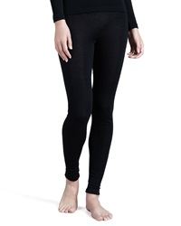 Hanro Silk Blend Leggings Black Large