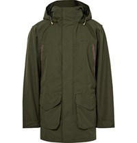 Musto Shooting Highland Ultra Lite Gore Tex Hooded Jacket Army Green