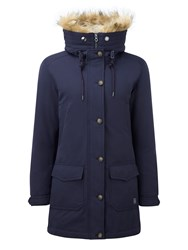Tog 24 Kelso Womens Milatex Down Parka Jacket Navy