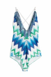 Missoni Fringed Swimsuit