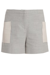 Band Of Outsiders Leather Pocket Shorts