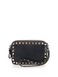 Valentino Rockstud Double Zip Compartment Wristlet Clutch