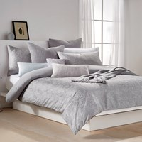 Dkny Soho Grid Duvet Cover Grey