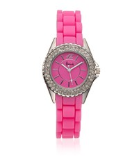 Harrods Diamante Watch Unisex Candy